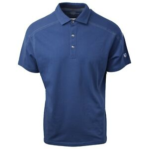 Kuhl-Men-039-s-Lake-Blue-Wayfarer-Born-In-The-Wild-S-S-Polo-Retail-45