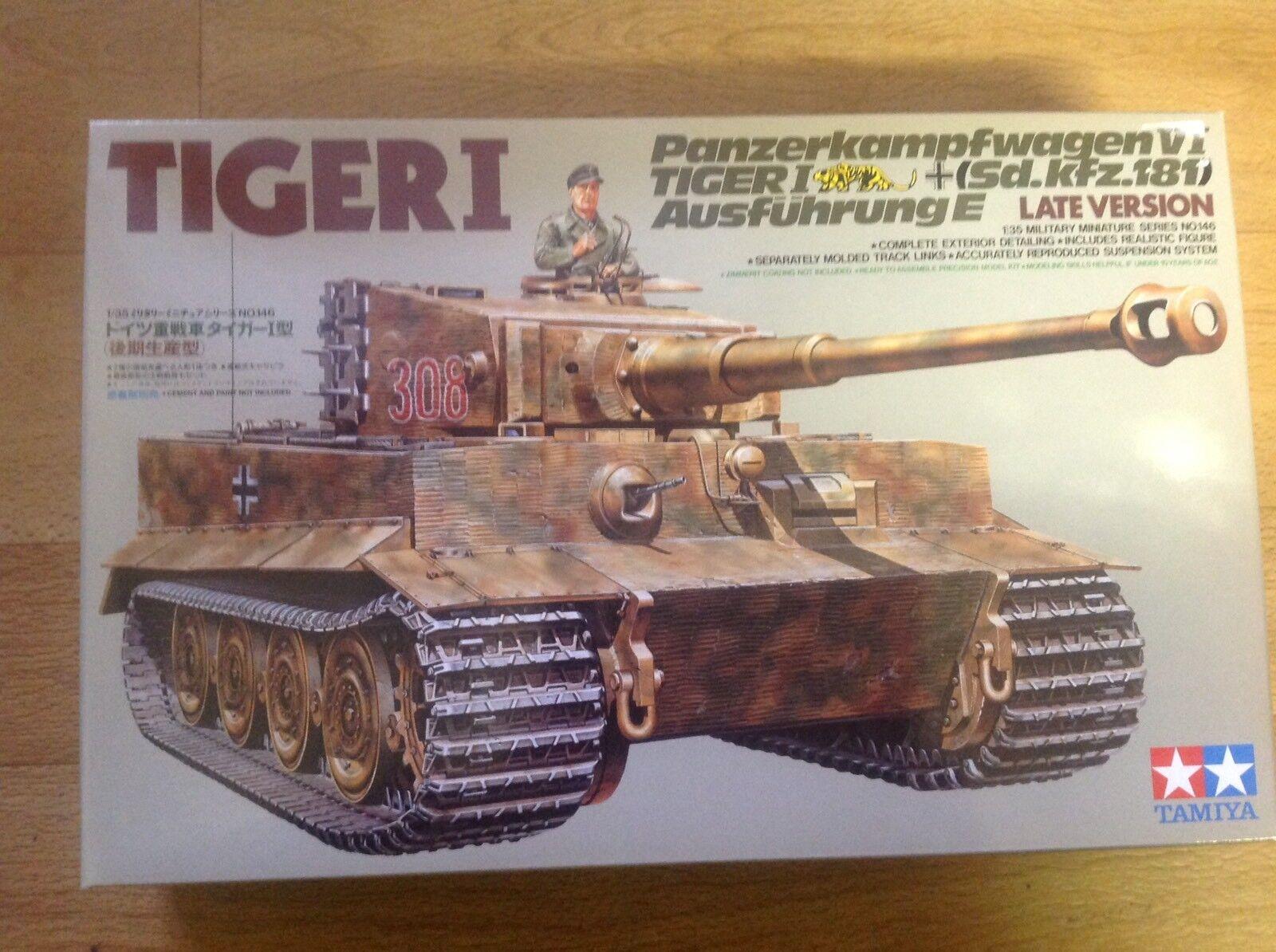 Tamiya  35146 Tiger 1 1 35 Scale Late Version