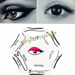 In Eyeliner Sticker Quick Cat Eye Liner Template Eyeshadow - Eyeshadow template