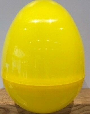 GIANT PLASTIC HOLLOW EASTER//PARTY//GIFT SURPRISE EGG *BLUEBERRY SPARKLE* NEW
