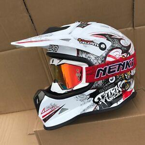 9d004f1e Image is loading Motocross-Full-Face-Helmets-Motorcycle-Downhill-Dirt-Bike-