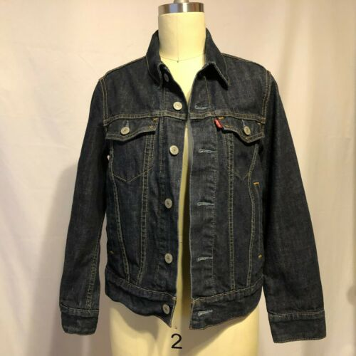 Wash Denim M Taille Original Jacket Dark Trucker Levi's UwxXIqIC