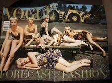 Vtg Vogue Italia 7/2004 Naomi Campbell Daria Werbowy Trish Goff Tilda Swinton