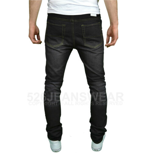 Soulstar Mens Designer Slim Fit Jeans BNWT Available in 4 Colours