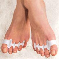 Gel Toe Straighteners Align Toes Relieve Foot Pain Bunion Corrector Set/2