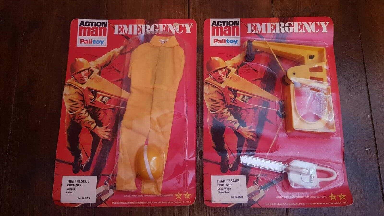 Sealed Very Rare Vintage Action Man voitureded  Emergency High Rescue Set By Palitoy  garantie de crédit