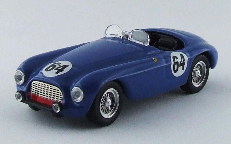 Ferrari 166 MM Barchetta  64 Retirouge Le Mans 1951 Bouchard   Farnaud 1 43 Model