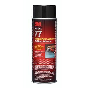 3M Super 77 Spray Adhesive, 16.75 fl oz, 21210 FREE SHIPPING