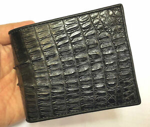 Genuine Crocodile Wallets Alligator Tail Skin Leather