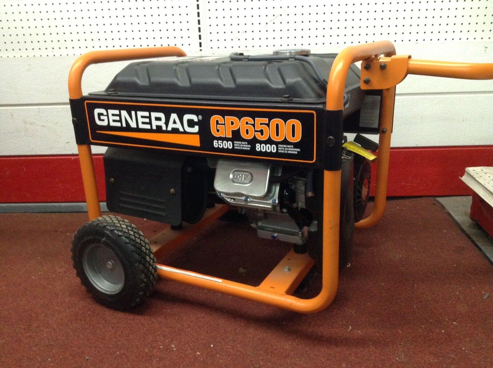 Generac GP6500 GP Series 6,500 Watt Portable Generator