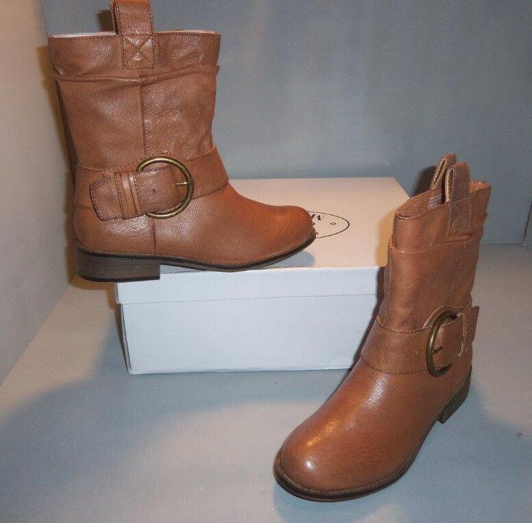 n ° 1 online Steve Madden Donna  Aaron Cognac Marrone Leather Ankle Ankle Ankle stivali DimensioneS  NIB p-aaron  all'ingrosso economico e di alta qualità