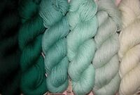 Pine Green Family Paternayan Wool 3ply Persian Yarn Needlepoint Crewel