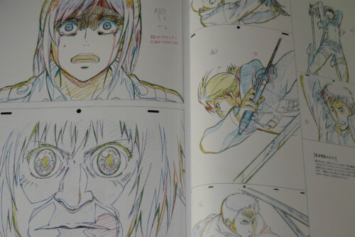 Shingeki no Kyojin 3 Art Book JAPAN Drawing for Animation From Attack on Titan