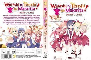 ANIME-DVD-Watashi-Ni-Tenshi-Ga-Maiorita-1-12End-English-sub-FREE-SHIPPING-SKU3