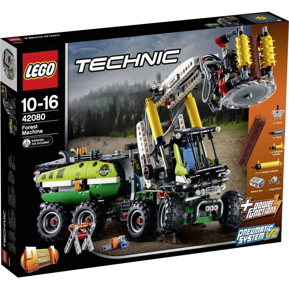 Lego Technic 42080  bosque máquina Carretilla Elevadora-totalmente Nuevo