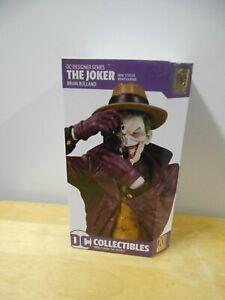 DC COLLECTBLES THE JOKER MINI STATUE BY BRIAN BOLLAND #0677/5000 - NEW IN BOX