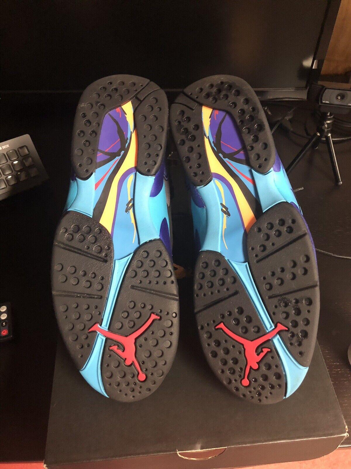 Nike Air Jordan VIII 8 Retro Aqua Size 9.5