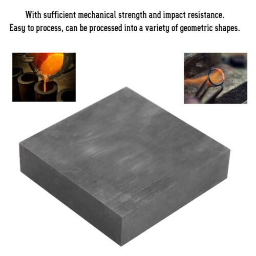 "Graphite Blank Block Sheet Plate High Density Fine Grain 1-1//2/"" X  2/"" X 2/"""