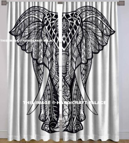 Indian Handmade Elephant Mandala Window Cotton Handmade Door Decor Room Divider