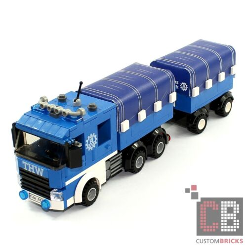 CB Cus Model Music Truck with Plane and Pendant Long Version from Lego Stones