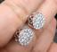 Deal-1-05-CT-Natural-Diamond-Cluster-Halo-Stud-Earrings-14K-White-Gold-9-5-MM thumbnail 6