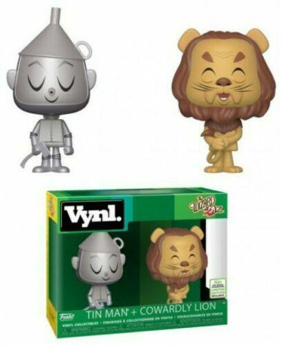 Funko Vynl The Wizard of Oz Oz 35542 Tin Man + Cowardly Lion ECCC2019  Esperando por ti