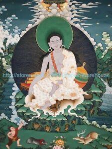 Vajrasattva Tibetan thangka paper poster living room wall decor