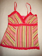 Pookie and Sebastian Cotton Striped Camisole top Small/Medium