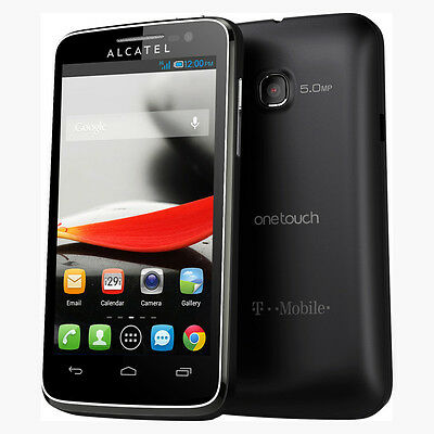 Alcatel One Touch Evolve 4GB 5020T T-Mobile Android Smartphone Black
