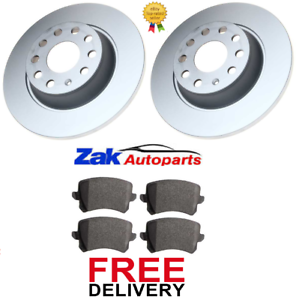 FOR VW PASSAT CC COUPE 1.8 2.0 GT TDi TSi 2 REAR BRAKE DISCS AND PADS SET NEW