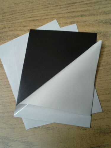 """250 Peel and Stick Magnet Sheets 8.5/"""" x 11/"""" Extra Strong 30 mil"""