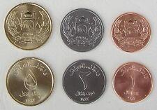 Afghanistan 1,2,5 Afghanis 2004-2005 unz.