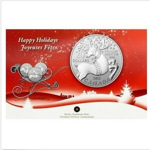 2012-Canada-20-Magical-Reindeer-Commemorative-9999-Fine-20-for-20-Silver-coin