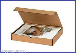 50-Pack-Kraft-Corrugated-Literature-Mailer-Shipping-Boxes-42-Sizes-Available