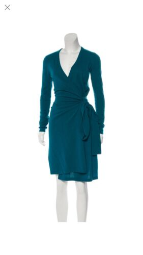 diane von furstenberg wrap dress Cashemere Small