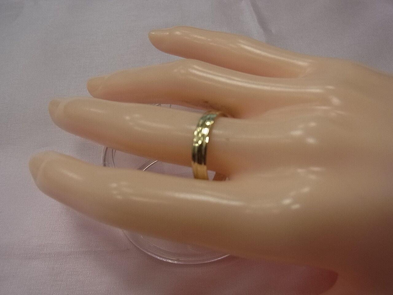 6565-583er redgold Ehering Ringgroße 58 Breit 1,96 mm Stark 1,19 mm Gew 1,3 Gra