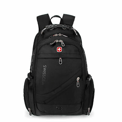 Fashion SwissGear Travel Bags MacBook Laptop Hike Black Color Backpack