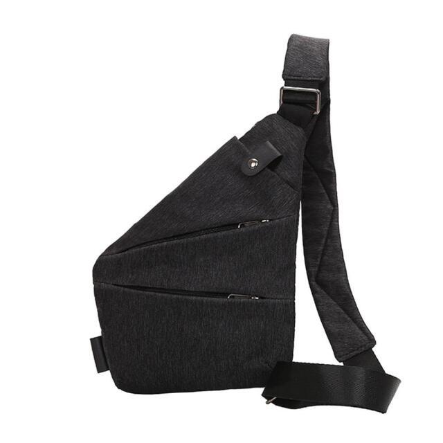 c3715422fc1b Cross Body Bag Men Anti-theft Chest Cycle Sling Day Pack Messenger ...