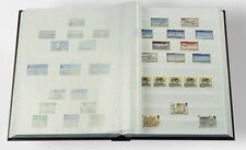 Stamp Collecting Album LIGHTHOUSE Stock Book 6 5 X 9 - 16 White Pages Post