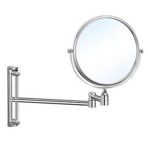 Specchio bagno ingranditore diametro 23 cm a muro con braccio in ottone cromato ebay - Specchio ingranditore bagno ...