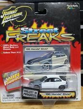 Johnny Lightning Street Freaks Project  '00 Honda Civic 1:64 scale new