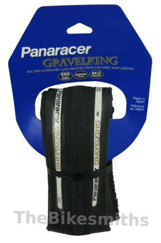 Panaracer Gravel King 700 x 23// 26// 28 or 32 Folding Road Bike Tire GravelKing