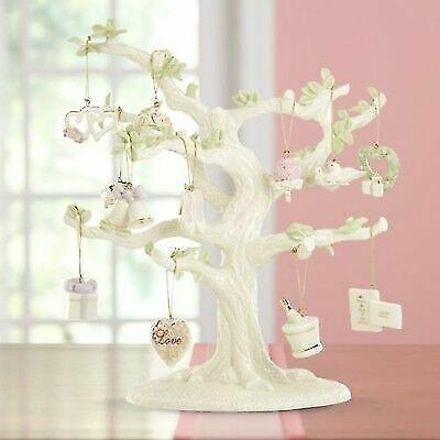 LENOX ~ set of 12 WEDDING Miniature ORNAMENTS for Tree  ~ NIB ~ FREE ship