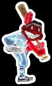 Chief Wahoo MAGNET Die Cut Cleveland Indians Custom Vinyl  MLB Baseball