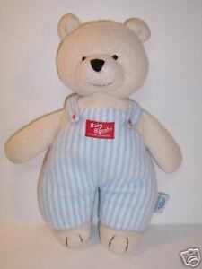 de2520d4b BABY B'GOSH/KIDS GIFTS TEDDY BEAR BL/WH OVERALLS 12