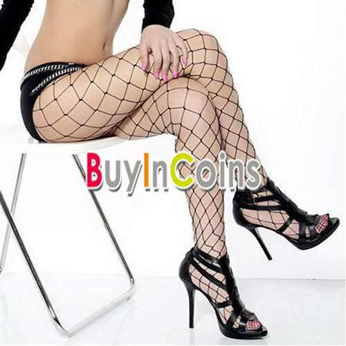 Sexy Women Big Mesh Fishnet Net Pattern Pantyhose Stockings Tights RT