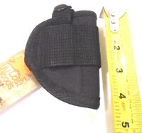 Derringer Ambidextrous Belt Gun Holster Black Free Shipping
