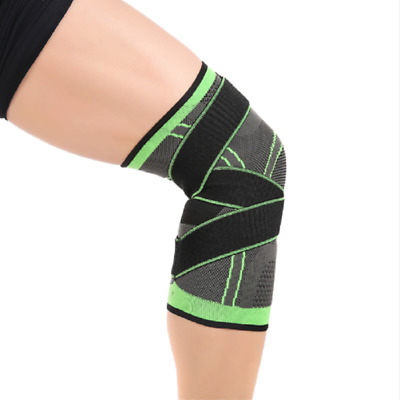 NEW 3D Weaving Knee Brace Breathable Support Running Jogging Joint Pain Knee Pad
