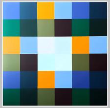 "Richard Paul LOHSE - ""Gruppe von 8 Quadraten mit vier Rechtecken"" - Silkscreen"