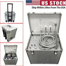 Mobile Dental Portable Delivery Unit Air Compressor Treatment Suction System Fda